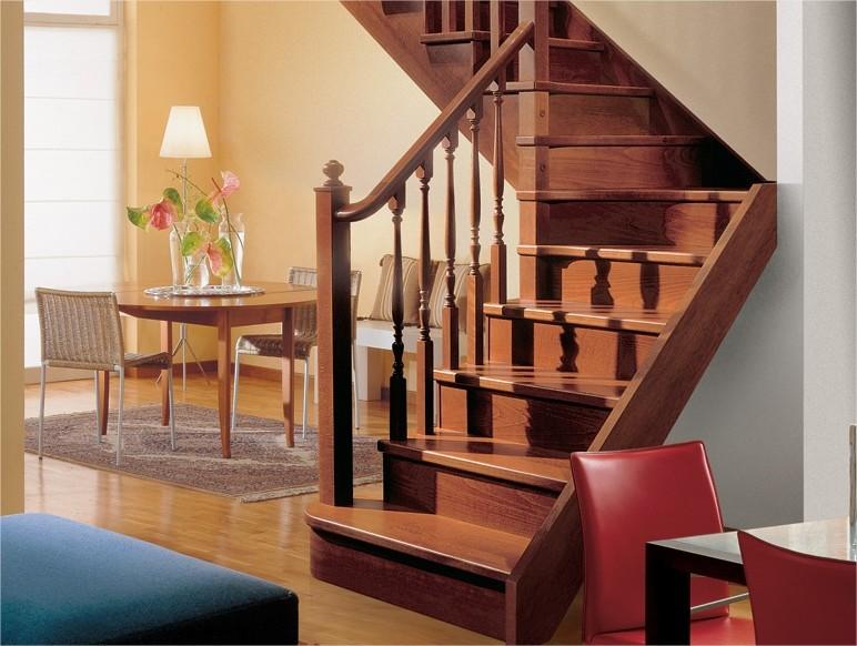 Scale bari scale in legno - Costo scale in legno per interni ...